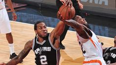#Spurs Kawhi Leonard named Defensive Player of the Year for the second straight year.
