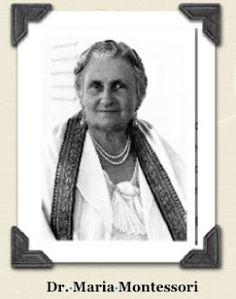 "Montessori writes that her method "" seeks to observe the unconscious mind and its secrets. Maria Montessori, Mindfulness, India, History, Books, Livros, Livres, Book, History Books"