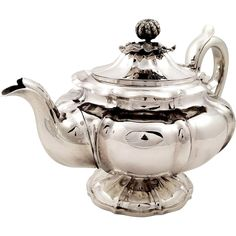 Antique William IV Sterling Silver Teapot - 1831