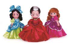 "Cinderella Ugly Stepsisters Lady Tremaine 3 12"" Doll Set Disney Precious Moments"