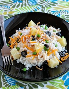 Hawaiian Haystacks (NO CREAM SOUP) on MyRecipeMagic.com #haystacks #hawaiian #nocreamsoup