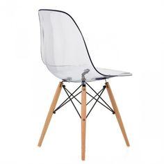 Eames DSW Stoel Transparant | Designer Stoelen | KLEINenDESIGN.nl