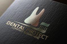 Dental Protect Logo ~ Logo Templates on Creative Market