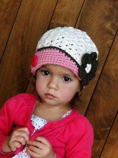 Girls Hat kids hat crochet baby beanie hats for by JuneBugBeanies,  24.00  Enfants Stylés, 02a84cf7244