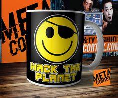 Hackers Movie - Hack the Planet Movie Mug