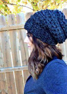 slouchy hat crochet pattern