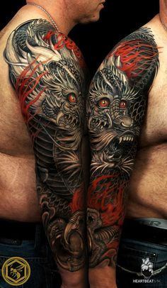 9 Most Intense Dragon Tattoos | Tattoo.com