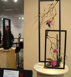Framed Spacial Design by Naomi Ormes   Floral Designs: Framed ... on