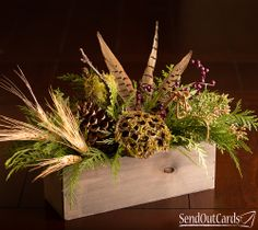 Wooded Forest Centerpiece