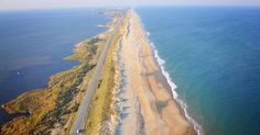 Outer Banks of North Carolina.  Yes we have water.