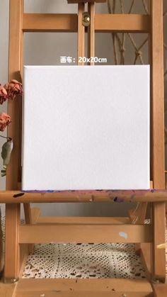 Canvas Art Quotes, Diy Canvas Art, Simple Acrylic Paintings, Acrylic Art, Canvas Painting Tutorials, Diy Painting, Art Drawings Sketches Simple, Art Lessons, Crafts