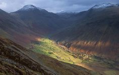 Sun-bathed Wasdale Head Photograph