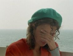 """Marie Rivière , 30-y : """"Le Rayon Vert """" , by Eric Rohmer , France 1986"""