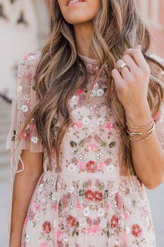 The most beautiful embroidered dress | merricksart.com