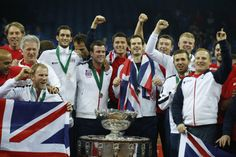 Andy Murray gives Britain Davis Cup title after 79 years (Yahoo Sports) #sport