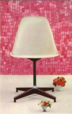 Eames PSC, Photo by The Eames Office, from a vintage postcard