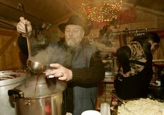 Or served fresh by cool dudes at your local Christmas market. | Mulled Wine Is The Most Soul-Warmingly Delicious Drink Ever