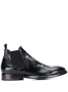 Officine Creative slip-on ankle boots - Black Leather Slip Ons, Calf Leather, Officine Creative, Black Ankle Boots, Brand You, Chelsea Boots, Calves, Women Wear, Mens Fashion