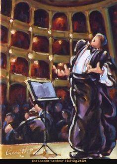 Lise Lacaille original oil painting on canvas #liselacaille #art #artist #canadianartist #quebecartist #fineart #figurativeart #originalpainting #oilpainting #CanadianArt #man #singing #multiartltee #balcondart