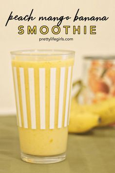 The Pretty Life Girls PLA Cooks Three Greek Yogurt Smoothie Recipes Click the image for more info. Smoothie Recipes With Yogurt, Smoothie Recipes For Kids, Greek Yogurt Recipes, Yogurt Smoothies, Healthy Smoothies, Healthy Eats, Lunch Smoothie, Breakfast Smoothies, Smoothie Drinks