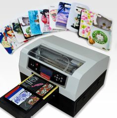A4 size direct phone cover printer