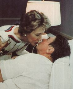 ronald reagan assassination attempt | Ronald Reagan with his wife after surviving an assassination attempt ...