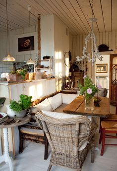 This particular country cottage decor is unquestionably a striking design conception. Decor, Home, House Styles, Rustic House, French Country House, Country Decor, French Decor, Interior Design, House Interior