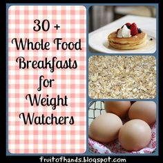 Whole Food Breakfasts for Weight Loss