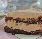 Υγρό κέικ μερέντας με γλάσο ινδοκάρυδου | Συνταγές - Sintayes.gr Carrot Spice Cake, Nutella Spread, Cake Supplies, Flourless Chocolate Cakes, Sweet Pastries, Round Cakes, Cake Tins, Cream Cake