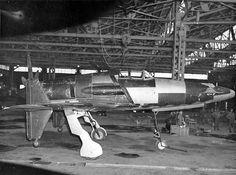 九州飛行機・局地戦闘機「震電」(日) 太平洋戦争の戦局が悪化した1944年5月から開発が始まった日本海軍の迎撃用高高度…