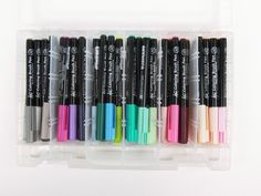Amazon.com: Sakura XBR-48SA 48-Piece Koi Assorted Coloring Brush Pen Set