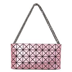 CLUTCH BAO BAO ISSEY MIYAKE The surface of Platinum series bag acts like a  mirror by reflecting light. This CLUTCH features the iconic triangle shapes  ... 712dce0c0a