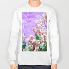 pastel lilac Long Sleeve T-shirt