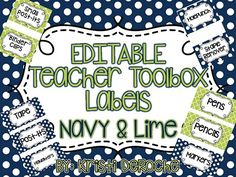 Browse over 180 educational resources created by Kristi DeRoche in the official Teachers Pay Teachers store. Teacher Toolbox Labels, Teachers Toolbox, 5th Grade Teachers, 4th Grade Classroom, New Teachers, Future Classroom, Classroom Themes, Classroom Organization, Classroom Management