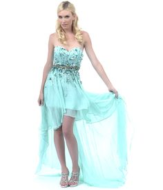 Tween dresses strapless long | ... Strapless Dress - Unique Vintage - Prom dresses, retro dresses, retro