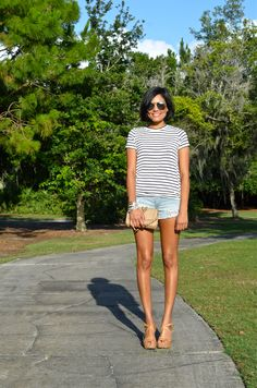 Top: TOBI Short: American Eagle