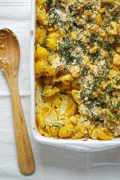 Pumpkin Macaroni & Cheese - Candice Kumai