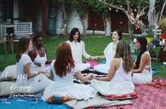 Your guide to hosting a summer solstice women's circle... Photo: Lani Trock for Ashley Neese