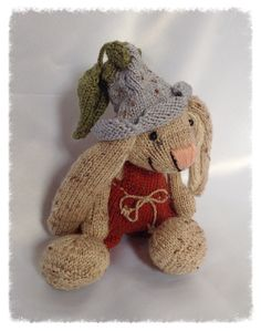 Knitted soft toy - cute!