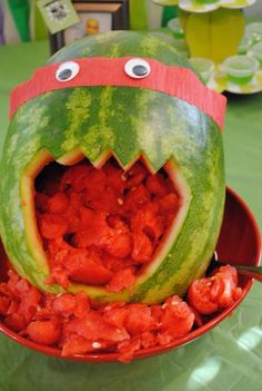 Teenage Mutant Ninja Turtles Birthday Party Ideas | Photo 20 of 33 | Catch My Party
