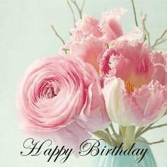Beautiful Birthday Wishes, Happy Birthday Wishes Cake, Happy Birthday Today, Birthday Cards, Diamond Jewelry, Birthdays, Handmade Jewelry, Rose, Flowers