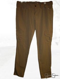 Jessica Simpson Women's Pants, Size 27, Brownstone