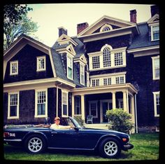 The car....first car I ever wanted....Triumph TR6