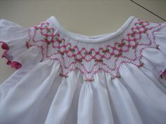 Smocking Close up by mamacjt, via Flickr