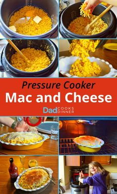 Pressure Cooker Macaroni and Cheese. Better than blue box mac and cheese, done in about 30 minutes. Served with a lb. of steamed broccoli. We all loved it. Pressure Cooker Macaroni And Cheese Recipe, Pressure Cooker Recipes, Pressure Cooking, Boxed Mac And Cheese, Making Mac And Cheese, Farberware Pressure Cooker, Cheddar, Dad Cooks Dinner, Crockpot Recipes