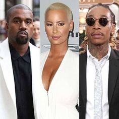 """Amber Rose says she was never in love with rapper Kanye West: """"I Didn't Love that Fool"""" - http://wp.me/p4MFYY-KF7"""