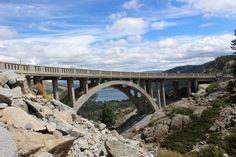 Donner Summit Bridge, Nevada County, CA.