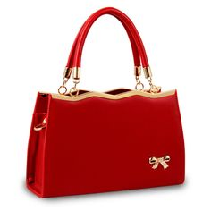 Women Bags Luxury Handbags Famous Designer Casual Tote Women Crossbody bags Designer High Quality 2018 NEW Interior Compartment Fashion Handbags, Tote Handbags, Cross Body Handbags, Purses And Handbags, Fashion Bags, Leather Handbags, Red Fashion, Fashion Women, Small Handbags