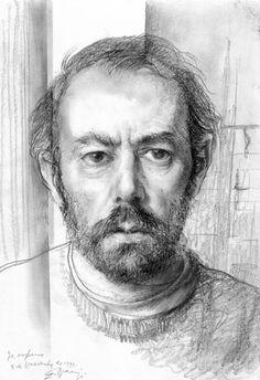 Eduardo Naranjo - YO ENFERMO. 1990. Lápiz sobre papel. 31 x 21 cm.