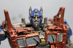 repainted AOE optimus prime by Valerobots on Etsy